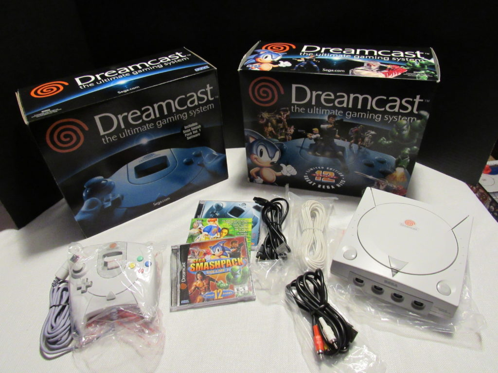 Sega Dreamcast Video Game Console – FlipItJoe com